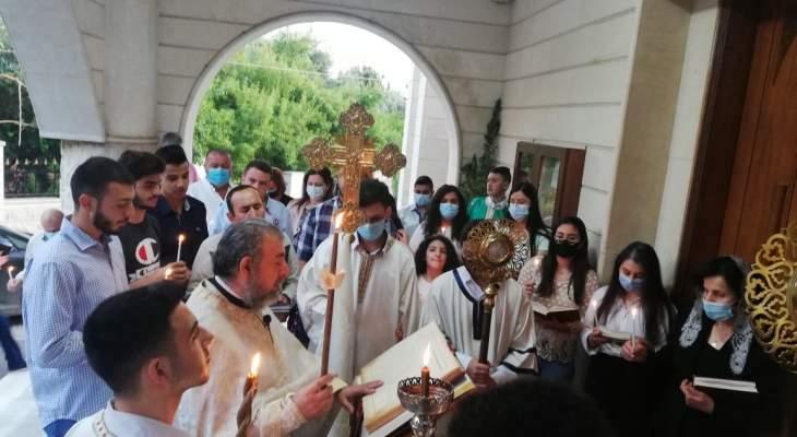 قداديس في الكورة لمناسبة الفصح بخضور عدد من المؤمنين