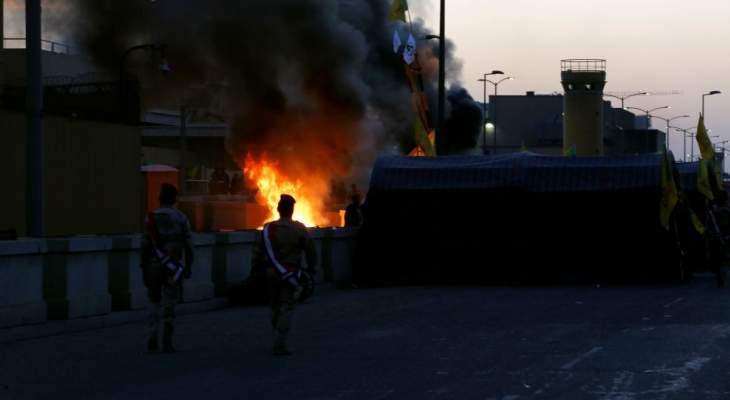 التحالف الدولي يؤكد سقوط صاروخ في المنطقة الخضراء في بغداد ولا اصابات