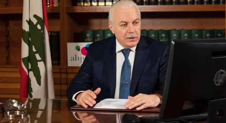 القاضي عبود: تأجيل انتخابات عضوين في الهيئة الوطنية لمكافحة الفساد بسبب الظروف الصحية