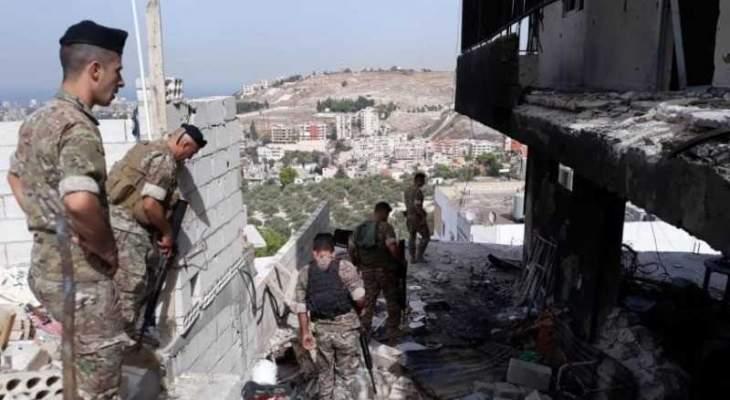 النشرة: تموضع الجيش عند مدخل مخيم المية ومية ترك ارتياحا عاما