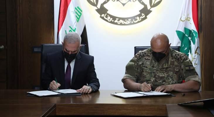 قائد الجيش استقبل وفدا من رئاسة الوزراء العراقية الذي قدم هبة للجيش