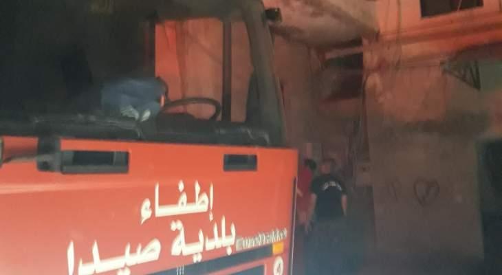 النشرة: إخماد حريق إندلع داخل غرفة كهرباء في حارة صيدا