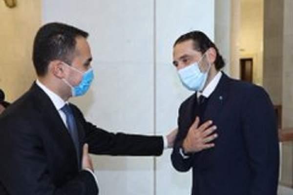 الحريري التقى وزير الخارجية الايطالي وأجرى معه جولة افق