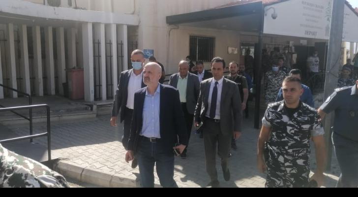 وزير الداخلية والبلديات تفقد نقطة المصنع الحدودية