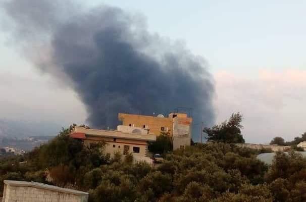 النشرة: المجموعات المسلحة تشن هجوما معاكسا على مناطق بريف حماه الشمالي