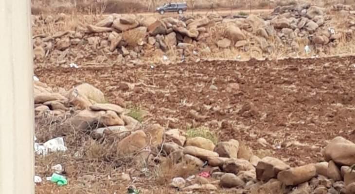 النشرة: دورية اسرائيلية مشطت الطريق العسكري ما بين تلال الوزاني ووادي العسل