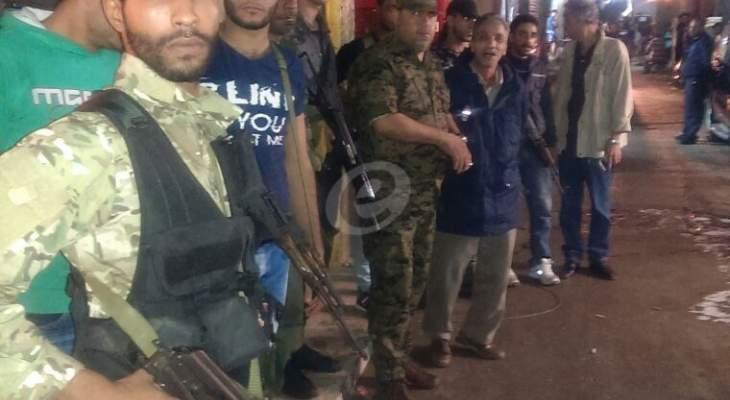 النشرة: اطلاق نار كثيف في مخيم صبرا وشاتيلا