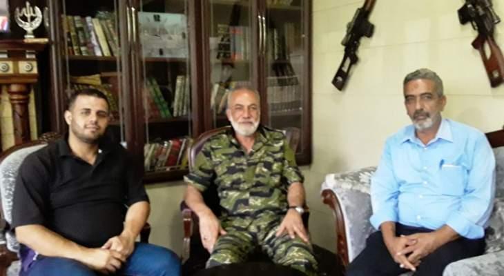 وفد من حماس التقى المقدح: تأكيد على استمرار الحراك حتى تحقيق أهدافه