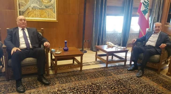 برض عرض مع أبو فاضل إتفاق الإطار لترسيم الحدود وتعديل المادة 47 من قانون أصول المحاكمات