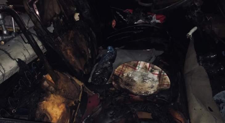قوى الأمن: شعبة المعلومات توقف شخصا بجرم إحراق سيارات في صيدا