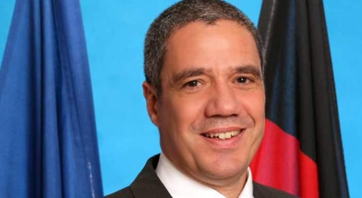 سفير الإتحاد الأوروبي بلبنان: ملتزمون بمساعدة لبنان اذا نُفذت إصلاحات بنيوية