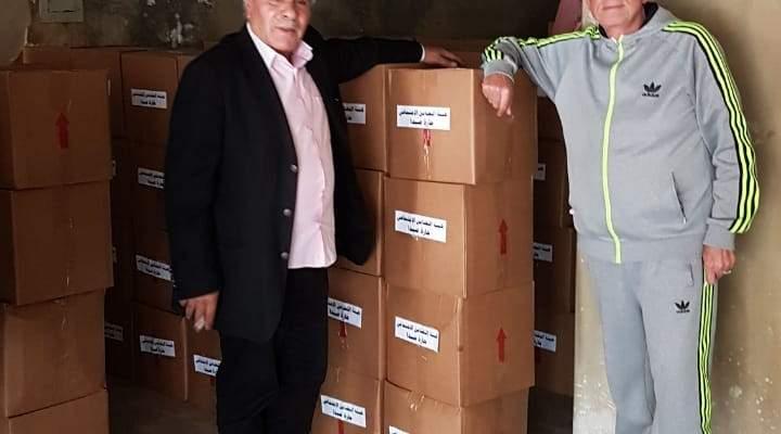 هيئة التضامن الاجتماعي بحارة صيدا أمّنت 220 حصة غذائية ووزعتها على الأسر المحتاجة