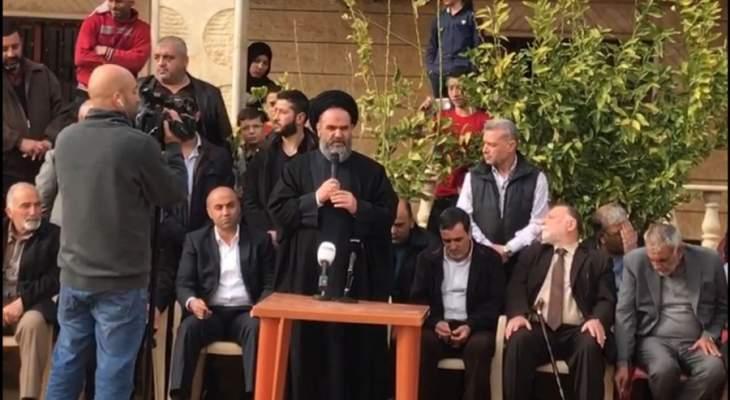 مسؤول حزب الله في البقاع: قطع الطرق لن يوصل إلى شيء