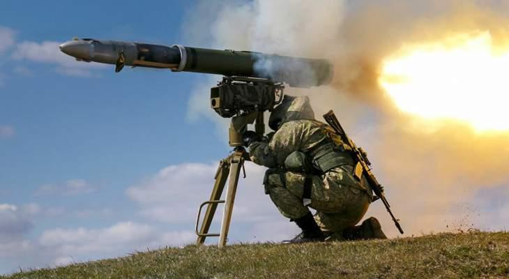 """الاعلام الاسرائيلي: أنباء عن إطلاق صاروخ """"كورنيت"""" من شمال غزة"""