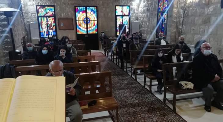 القداديس لمناسبة الجمعة العظيمة عمت مختلف الكنائس في النبطية