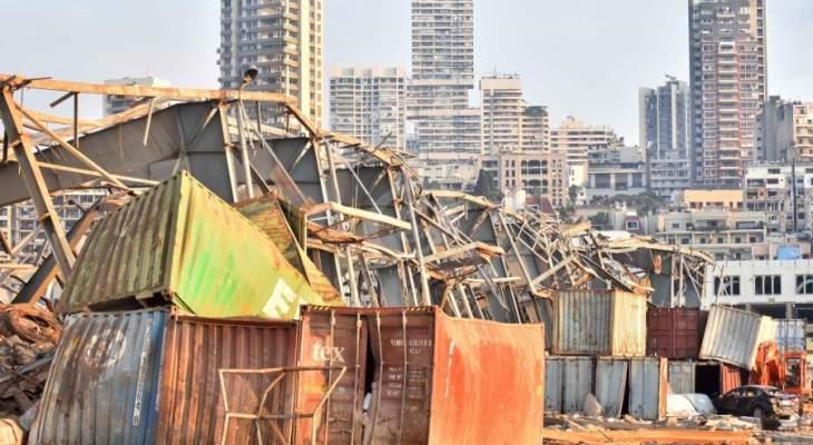 النشرة: طاقم الإنقاذ الروسي لا يزال مستمراً في عمليات الكشف في مرفأ بيروت