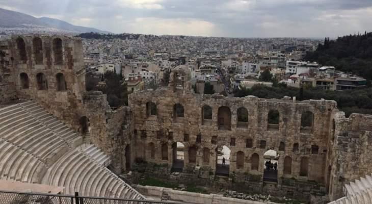 سفيرة اليونان بلبنان تسلمت من المحامي العام التمييزي أيقونتين كانتا قد سرقتا عام 2016 من أثينا
