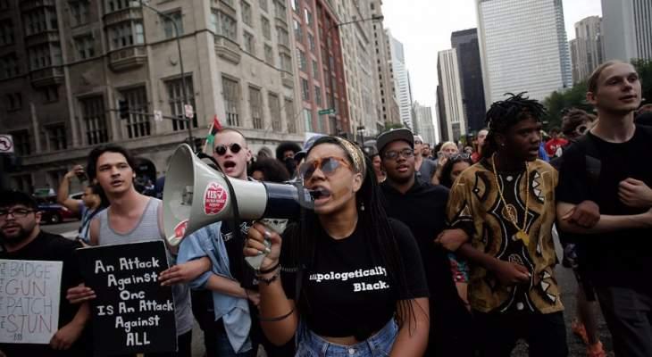 احتجاجات في شيكاغو إثر مقتل فتى لاتيني على يد شرطي
