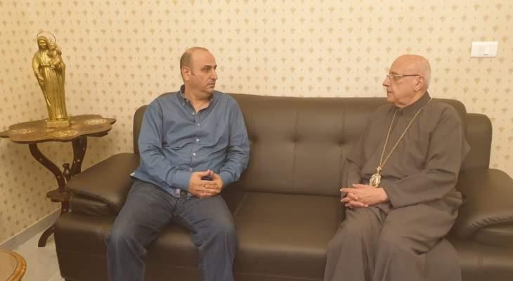 المطران درويش ناشد عون وبري ودياب انصاف ضباط دورة 1994