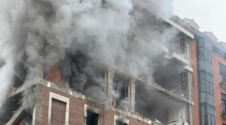 رئيس بلدية مدريد: الانفجار في وسط مدريد ناجم عن الغاز