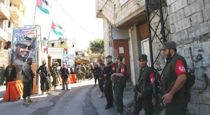 الأمن الوطني الفلسطيني في المية ومية: لا صحة لشائعات التمرد في صفوفنا