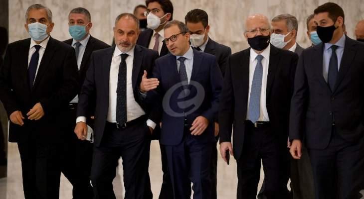 لبنان القوي: من غير المقبول أن يتحوّل إحتجاز التكليف الى إحتجاز لمستقبل اللبنانيين