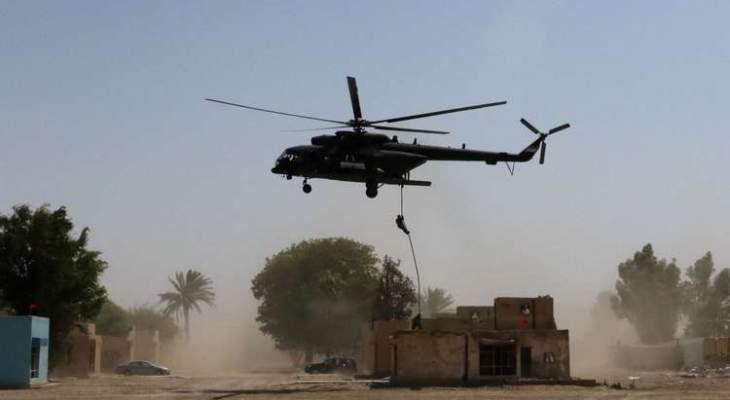 المرصد السوري: التحالف الدولي نفذ إنزالا جويا بريف دير الزور واعتقل قياديا سابقا بداعش