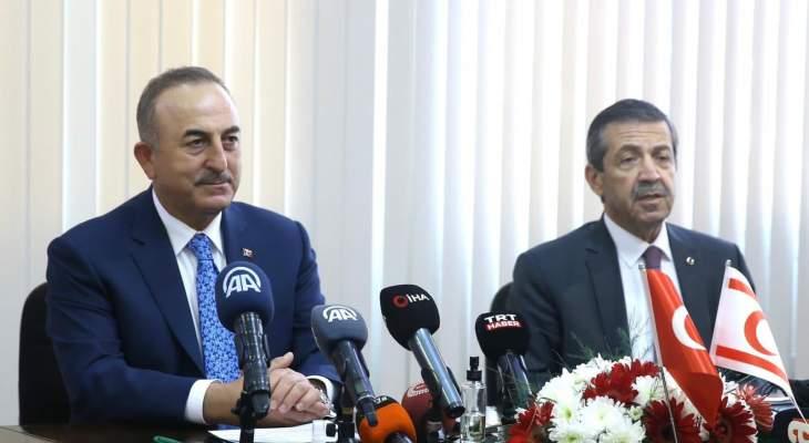 جاويش أوغلو: الجانب الرومي رفض كل المقترحات الخاصة بإيجاد حل في قبرص