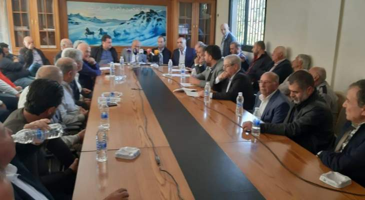 الترشيشي: مزارعو البقاع ولبنان يطالبون بوقف الاستيراد الزراعي إلى البلد
