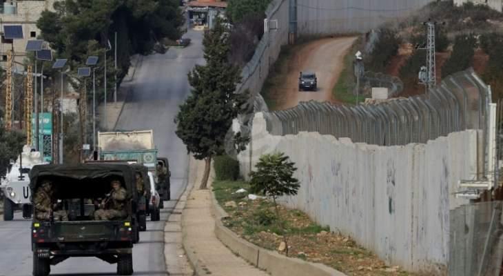 دوي صفارات الانذار في مستوطنة مسكفعام المحاذية للحدود مع لبنان