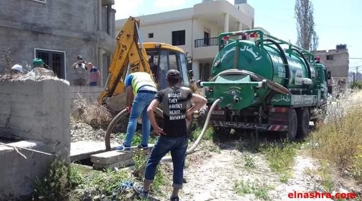النشرة: اتحاد بلديات ساحل الزهراني رفع مياه الصرف الصحي عن مشروع ري الليطاني