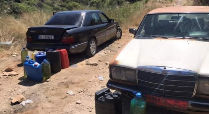 شرطة بلدية البربارة ألقت القبض على شبكة بيع البنزين بالسوق السوداء وتهريبها الى سوريا
