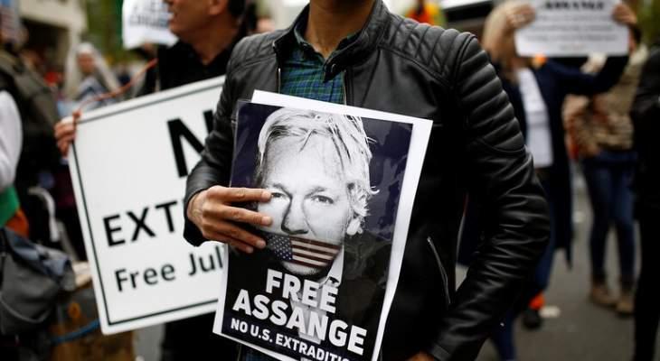 ويكيليكس تعلن ان ظروف احتجاز أسانج أسوأ من ظروف احتجاز الإرهابيين