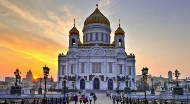 مسيحيو روسيا يحيون عيد الفصح وبوتين زار كاتدرائية المسيح المخلص بموسكو
