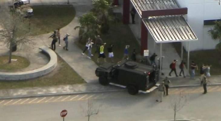 أكثر من 20 جريحا في حادث إطلاق النار بإحدى مدارس فلوريدا بأميركا