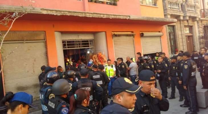 مقتل 4 أشخاص وإصابة 2 آخرين في إطلاق نار بالقرب من القصر الرئاسي المكسيكي