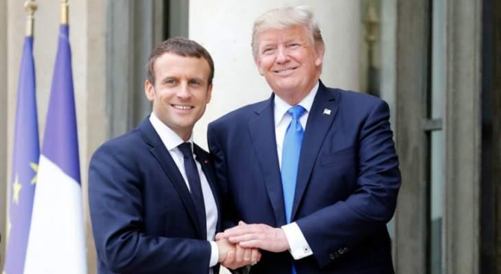 باريس تختلف مع واشنطن حول هذه النقطة