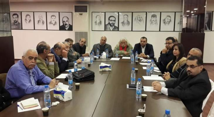 """النشرة:اجتماع بين """"فتح"""" و""""حماس"""" توافق على تفعيل الاطر المشتركة وتطويق احداث عين الحلوة"""