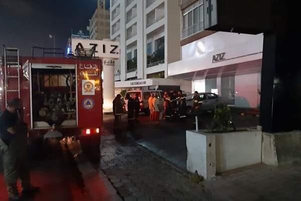 الدفاع المدني: إخماد حريق داخل سوبر ماركت في الزلقا