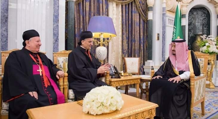 لقاء الملك سلمان والراعي اكد نبذ العنف والتطرف وتحقيق الامن والسلام