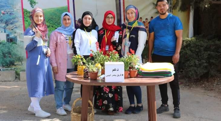 فريق يحمر البيئي كرم أعضاء اللجنة النسائية المساهمة بعملية فرز النفايات من المصدر