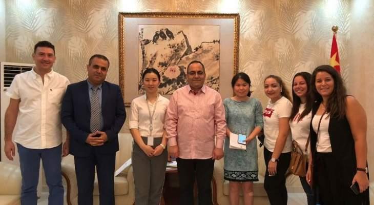 وفد لبناني شارك في مؤتمر إدارة الموارد البشرية في الصين