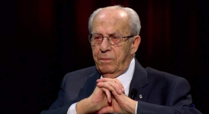 وفاة النائب الاول لرئيس حزب الكتائب جوزيف ابو خليل