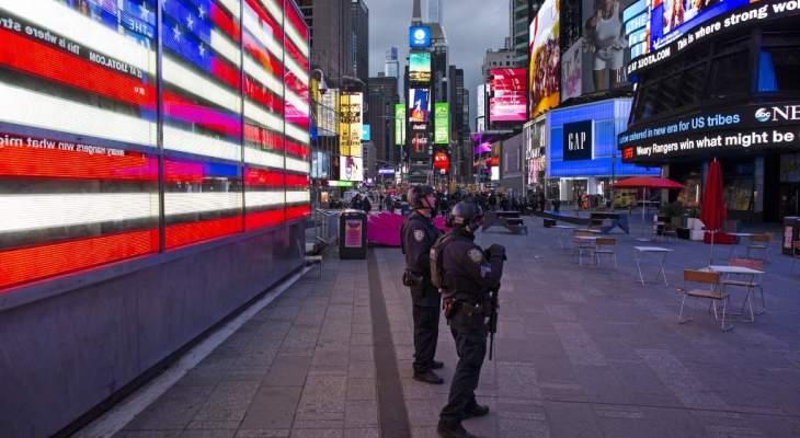 شرطة نيويورك: إصابة امرأتين وطفلة بإطلاق نار في ساحة تايمز سكوير