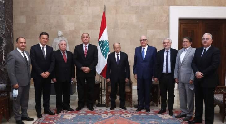 الرئيس عون: نبذل جهدا كبيرا لكشف ملابسات ما حدث وإعادة الامور مع السعودية الى مسارها الصحيح