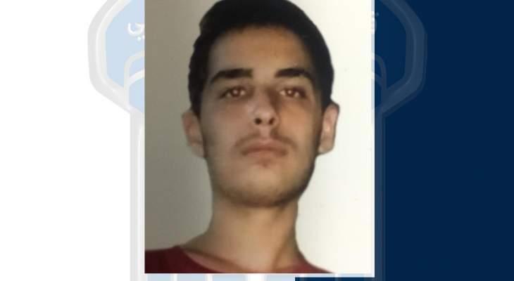 قوى الأمن عممت صورة قاصر مفقود في طرابلس