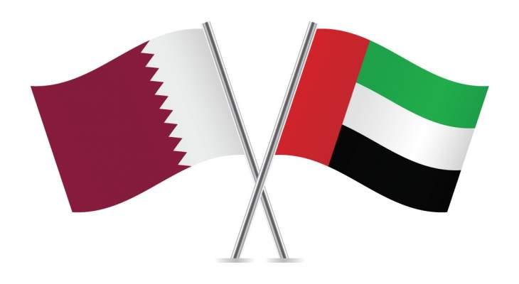 وفدان من الإمارات وقطر التقيا في الكويت وناقشا الآليات المشتركة لتنفيذ بيان العلا