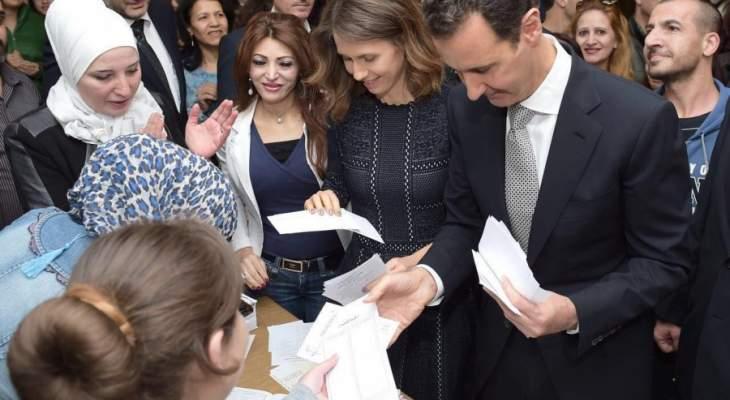 لجنة الإنتخابات السورية: تمديد الاقتراع 5 ساعات بكل المراكز الانتخابية