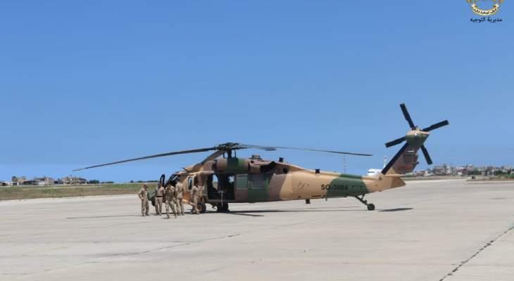 الجيش اللبناني: وصول عناصر من الجيش الأردني للمشاركة في تمرين مشترك