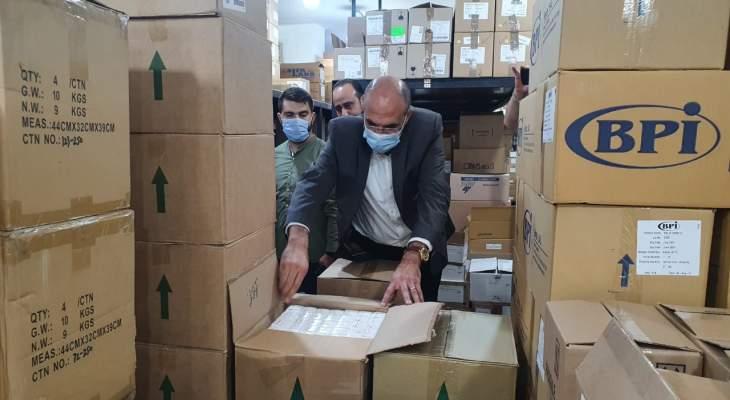 """""""LBCI"""": مداهمات على مستودعات أدوية في الشمال وجبل لبنان وزحلة والبقاع الأوسط"""